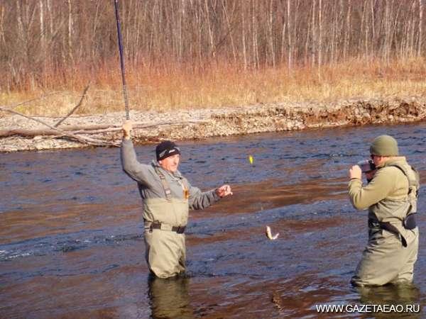 Запрет на рыбалку снят