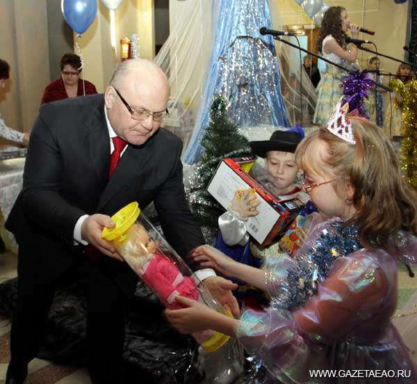 Рождественское чудо от губернатора
