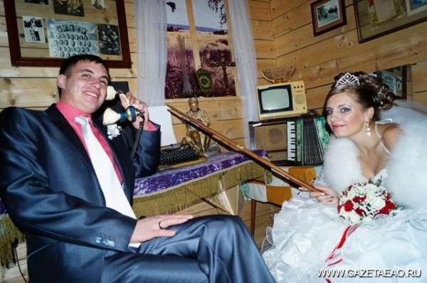 В день свадьбы в гости