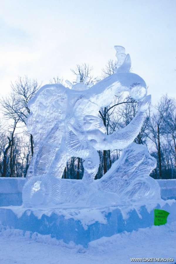 Зимняя фантазия изо льда