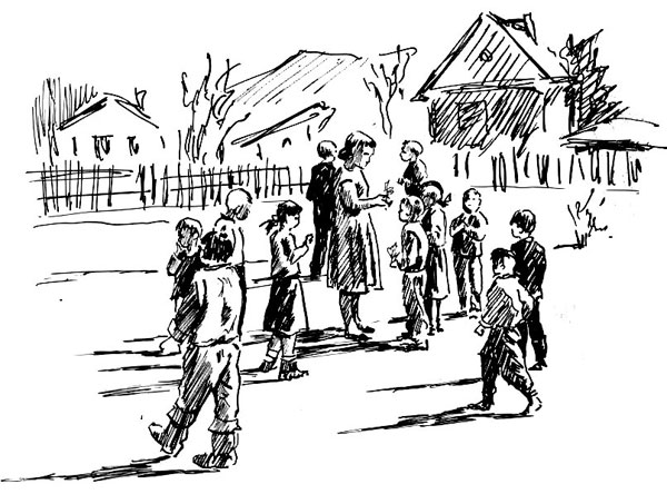 Уроки жизни от Марии Андреевны - Рисунок Владислава Цапа