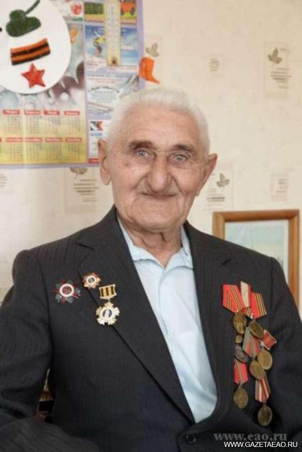 От Биры до Волги и Москвы-реки - ветеран Сталинградской битвы А.Т. Щербаков