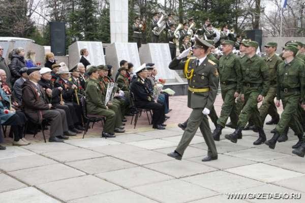 Весна Победы нашей - Отдали ветеранам честь