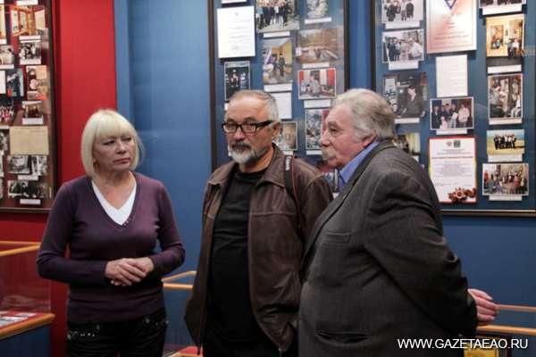 Высоких гостей принимал музей - С директором музея Татьяной Косвинцевой