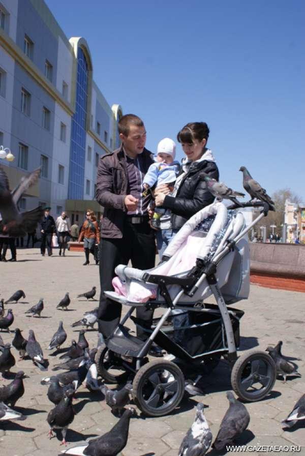 Источник любви и счастья - Любовь на троих и голуби.