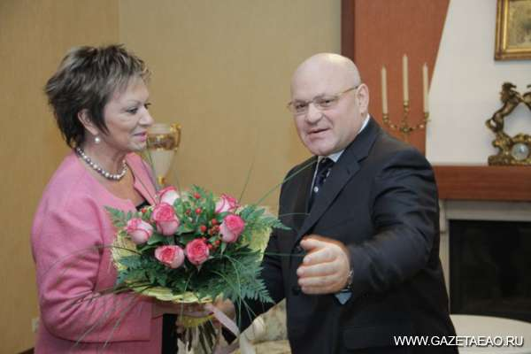 Александр Винников принял Чрезвычайного и Полномочного Посла Государства Израиль в России Дорит Голендер