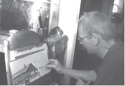 Мастер сельских зарисовок - рождение еще одного сельского этюда