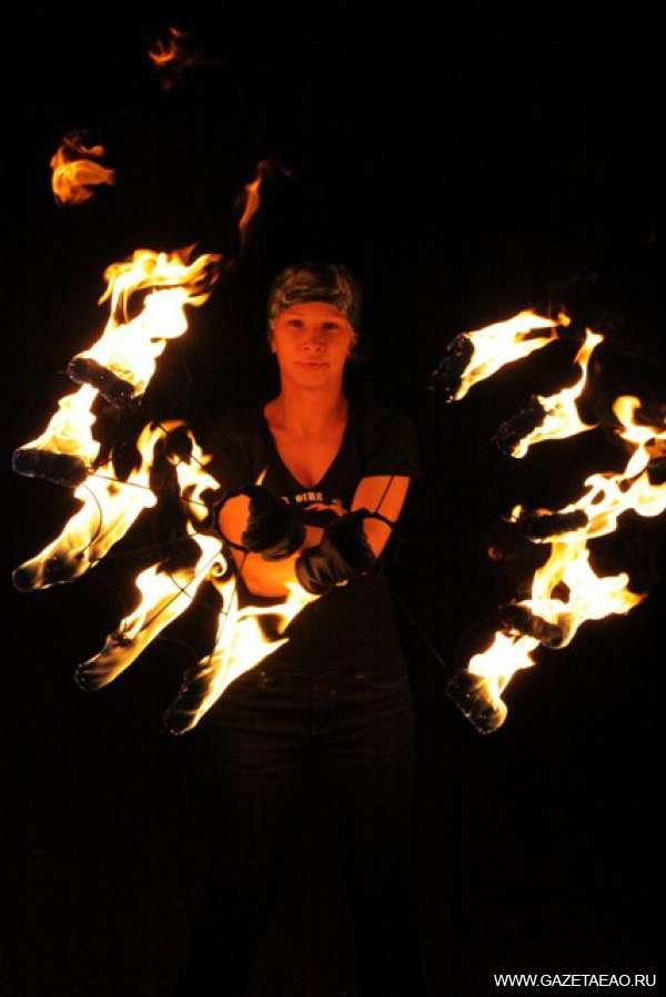 Танцы  с огнем - Александра Степина