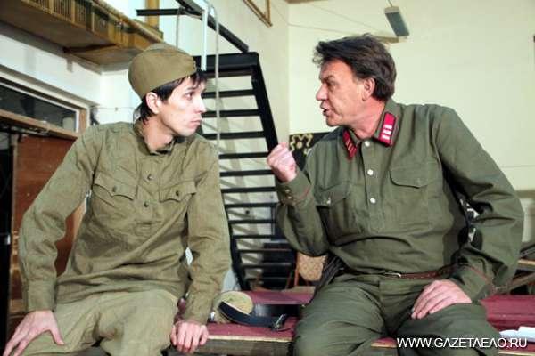 «Моня Цацкес в «Когелете» - Момент репетиции