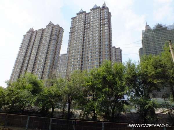 Многоэтажки Китая - Новый район Харбина