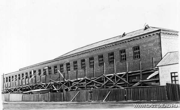 Фабричная история - Строительство фабрики «Ширпотреб»