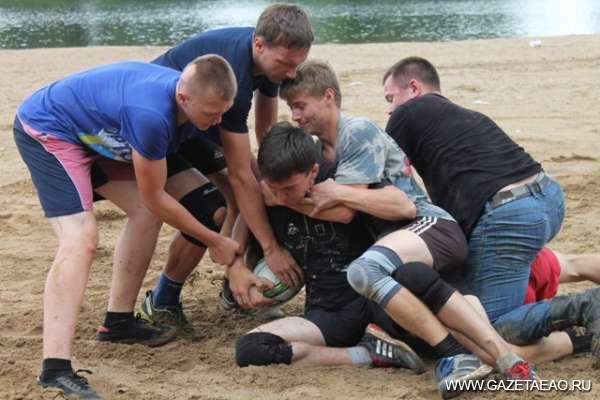 «Битва» на песке