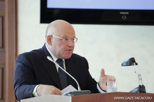 Губернатор ЕАО отчитался перед депутатами областного парламента о работе регионального правительства