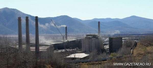 Черная полоска - Теплоозерский цементный завод