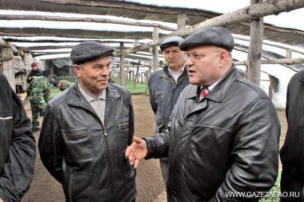 Ставка на перспективу - Губернатор с фермером Валерием Гридасовым