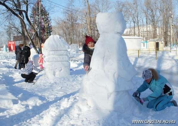Олимпийский мишка - Из пушистого снежка я леплю снеговика