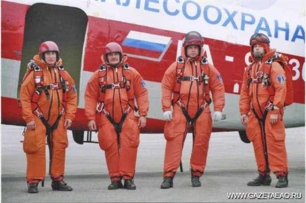 Нам сверху видно все - Пожарный десант к вылету готов