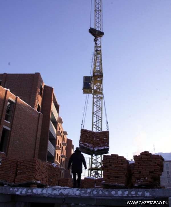 Отрасль,  идущая в рост - На строительстве жилого дома