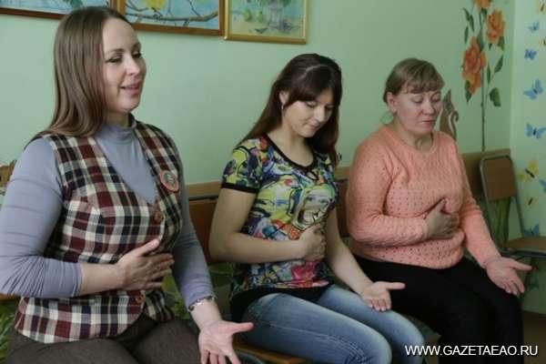 Путь к себе или «пробуждение» - Светлана Драга (слева) проводит сеанс самореализации
