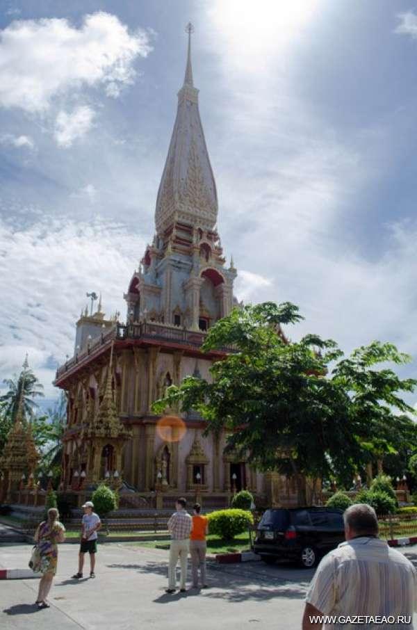 Страна улыбок - Храм Будды
