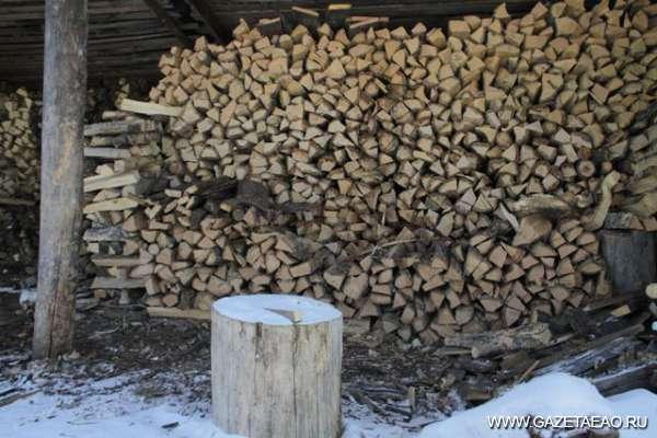 Съездить в лес по дрова…
