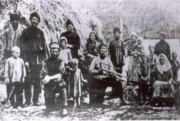 География с демографией - Первые переселенцы на берегах Амура. XIX век.