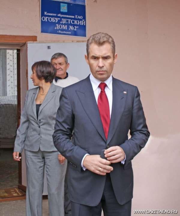 «Я приехал помочь, а не наказывать» - Озабоченный Павел Астахов выходит из одного из детских домов ЕАО