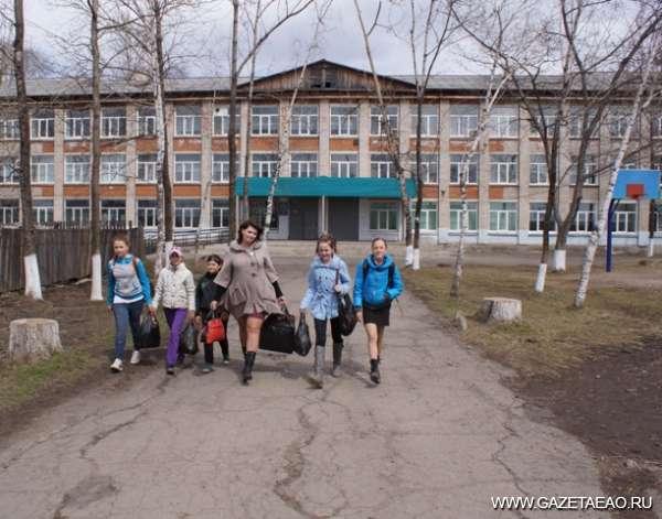 Окружили! - Школа в поселке Лукашова