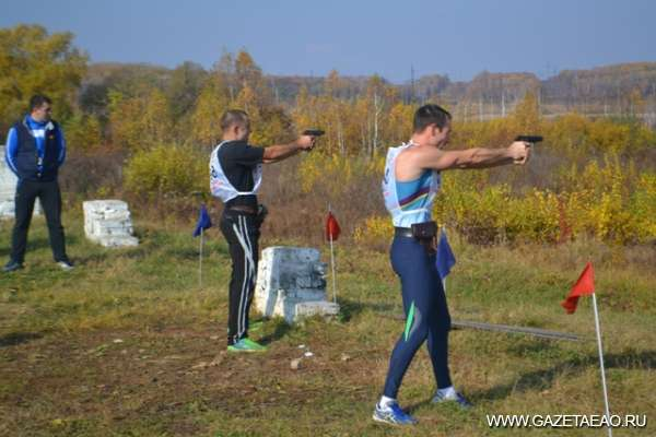 Беги и стреляй - Фото предоставила  С.БУНАКОВА
