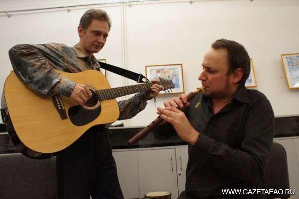 Дудук, джембе и гитара
