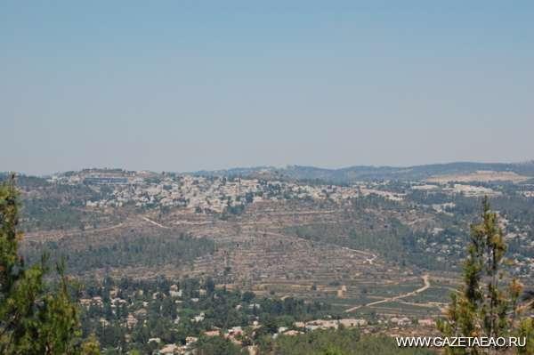 """«Мы знаем о Холокосте не все» - Вид на Иерусалим  со смотровой площадки """"Яд Вашема"""""""