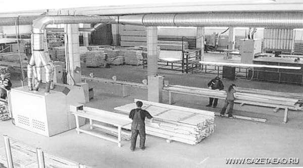 Лес рубят — щепки на переработку - Будущий цех по производству мебельных щитов