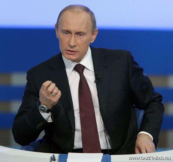 Владимир Путин на связи с гражданами