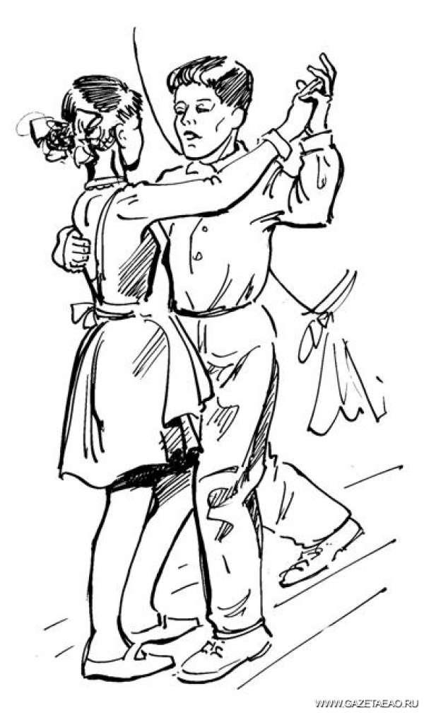 «Брызги шампанского» - Рисунок Владислава Цапа