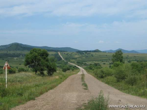 Среди лесистых сопок - Дорога в село