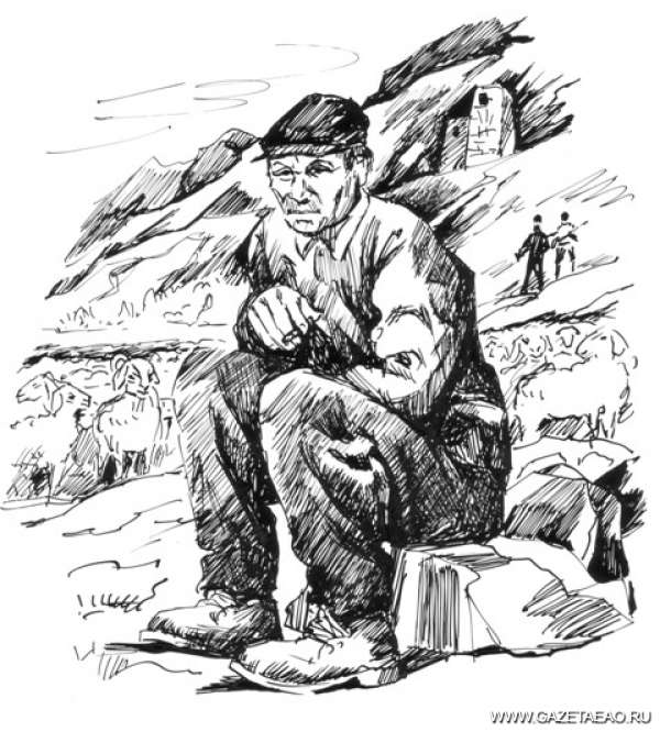 Кавказский пленник - Рисунок Владислава Цапа