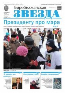 Биробиджанская Звезда - 15(17295)04.03.2015