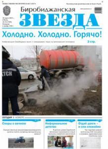 Биробиджанская Звезда - 19(17299)19.03.2015