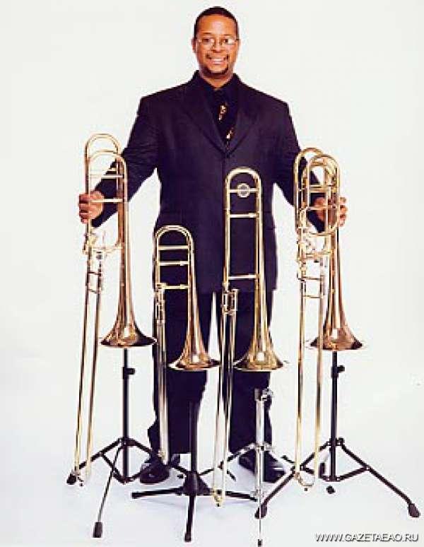 Завтра будет джаз у нас? - «Чёрный тромбон США» Рон Уилкинс готовится выйти на сцену областной филармонии.