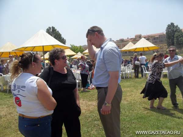 Израильтяне скучают по Биробиджану - Мэр Биробиджана на встрече  с земляками в Израиле