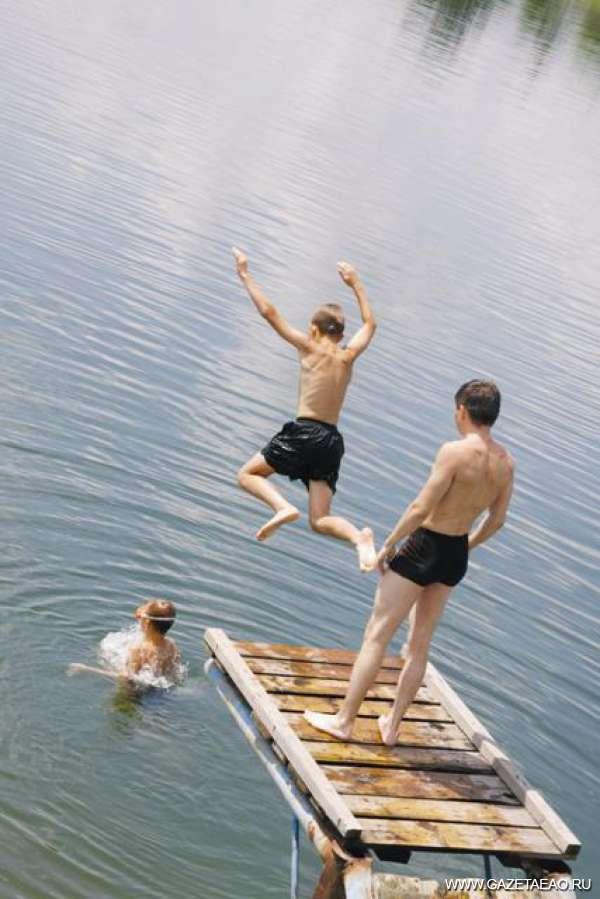 Лето — время отпусков - Принимай нас, вода!