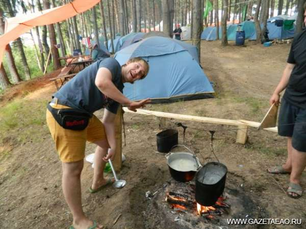 Инновации в палатке