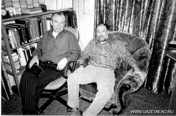 В поиске образов - Наум и Игорь (справа) Ливанты