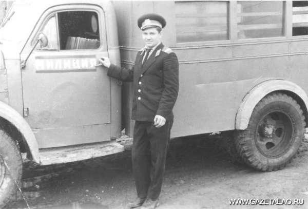 10 ноября — День сотрудника органов внутренних дел - Автор во время очередного выезда.