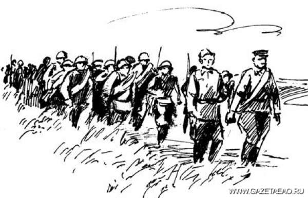 Когда до Победы было далеко - Рисунок Владислава Цапа