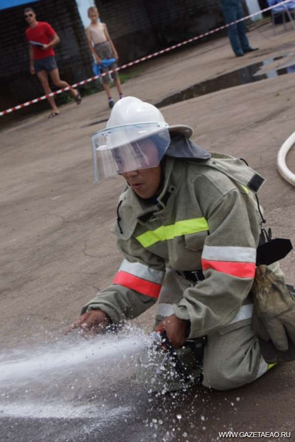 Тренинг по борьбе с огнем