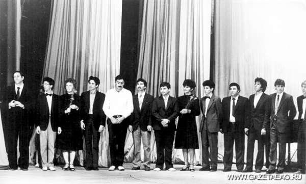 Весёлые и находчивые по-биробиджански - Сборная КВН г. Биробиджана. 1980-е годы