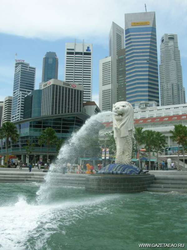 Сингапурский феномен - Лев - символ Сингапура