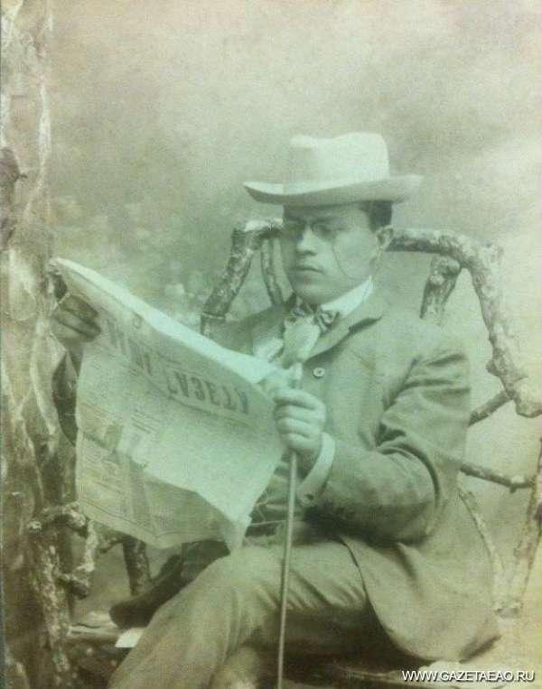 """""""Скажи мне, кудесник, любимец богов …"""" на идише! - Моисей Бернштейн, снимок 1910-х гг."""