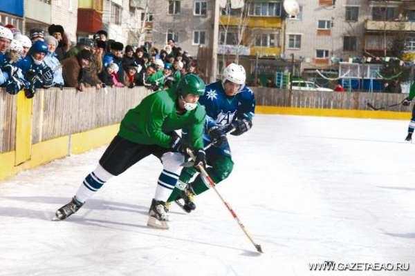 Счастье в хоккейной коробке